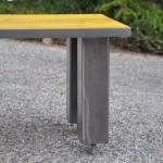 Table basse bois métal (420 €) Taille et couleur sur commande